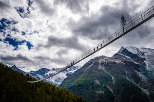 The Longest Suspension Bridge | Bridges | Swissrope: Lauber AG