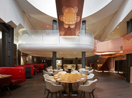 Eneko at One Aldwych | Restaurant interiors | Casson Mann