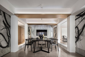 Shenzhen Oriental Garden Villa Chamber | Living space | Co-Direction Interior Design
