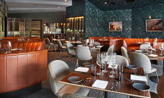 Nick & Stef's Steakhouse | Restaurant interiors | Beleco