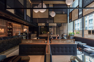 Nobu hotel Shoreditch | Hotel interiors | Ben Adams Architects