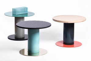 Reel Side Tables | Prototypes | David Derksen Design