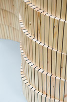 Woodwall Room Divider | Prototypes | David Derksen Design