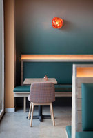 Gabi James | Restaurant interiors | Blanchard Fuentes Design