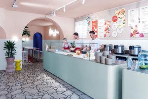 L.A. Poke | Café interiors | Ester Bruzkus Architekten