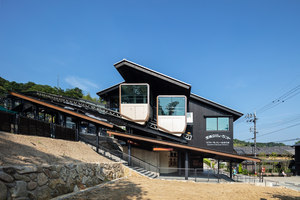 Monorail station of Amanohasidate view land | Costruzioni infrastrutturali | Koichi Hankai Architect & Associates