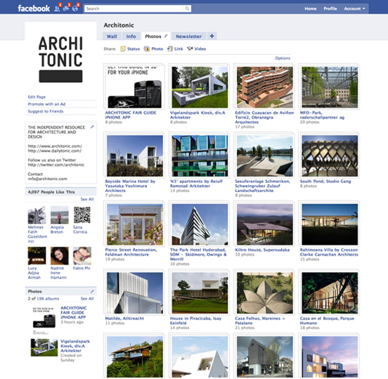 Architonic@Facebook