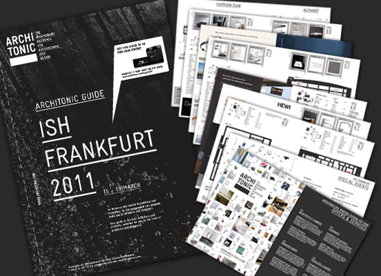 Architonic Guide ISH 2011