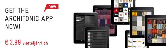 Die Architonic App: Ihr umfassendes Design-Nachschlagewerk für die Hosentasche