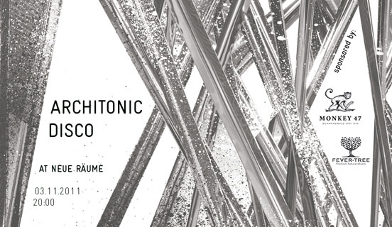 The Architonic Disco at 'neue räume 11'
