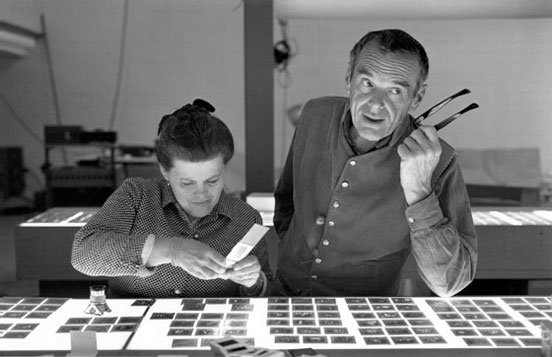 Documentary on the famous designer couple Charles and Ray Eames