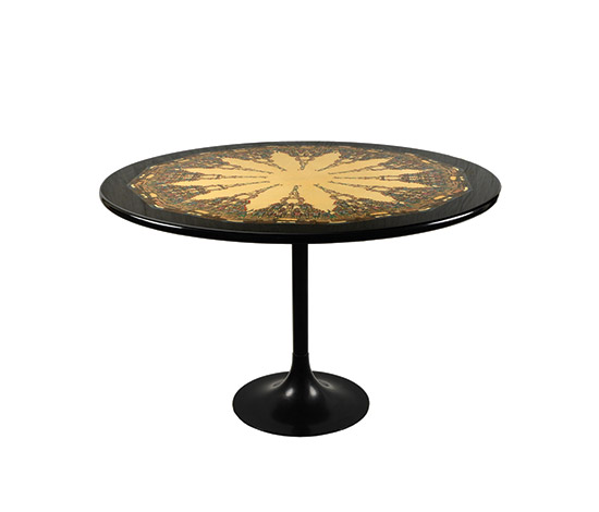 """Piramide umana"" table"