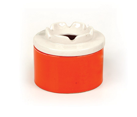 Ceramic ashtray by Boetto