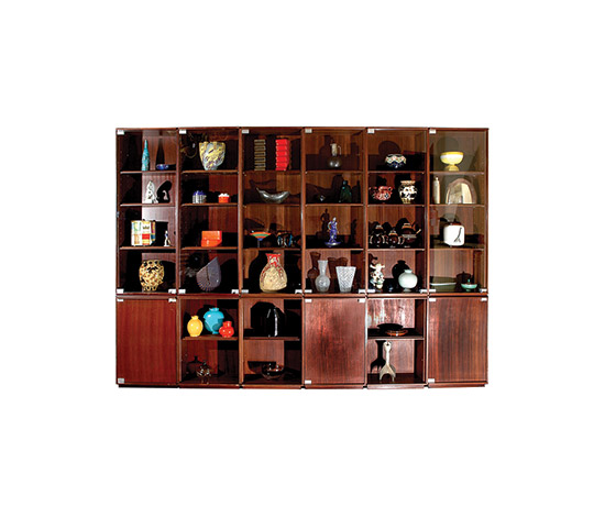 "Boetto-""Cambridge"" rosewood bookcase"