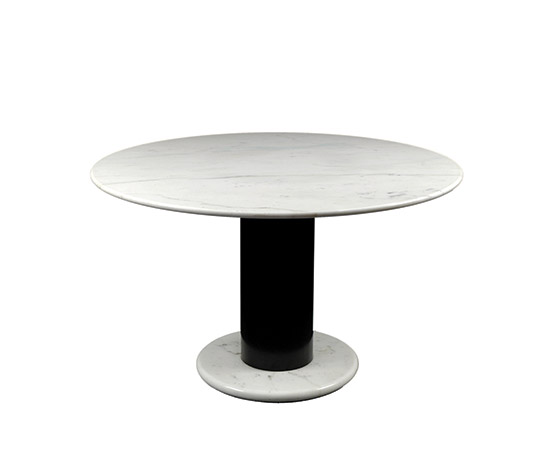 Round marble table de Boetto