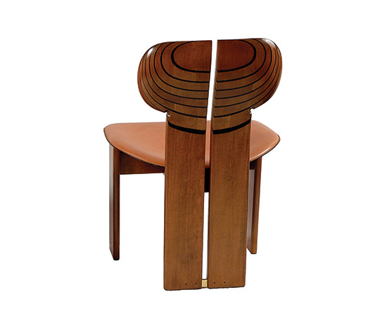 """Boetto-4 """"Africa"""" chairs, from """"Artona"""" series"""