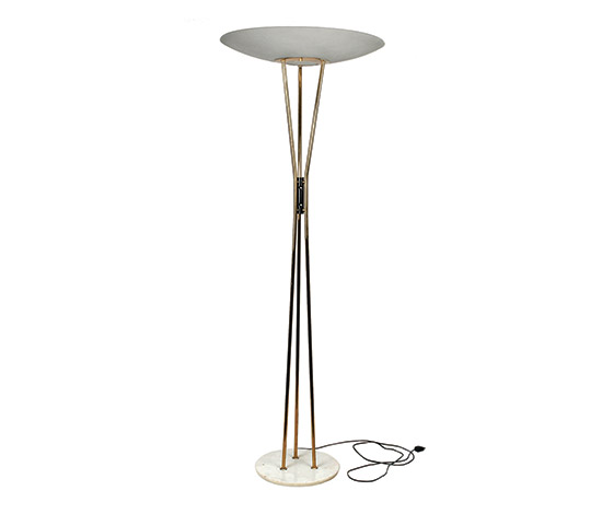 Metal floorlamp