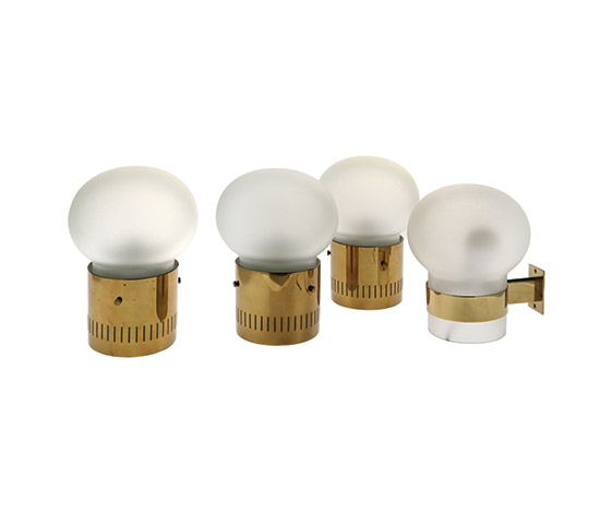 "Four model ""2404"" and ""2405""  lamps"