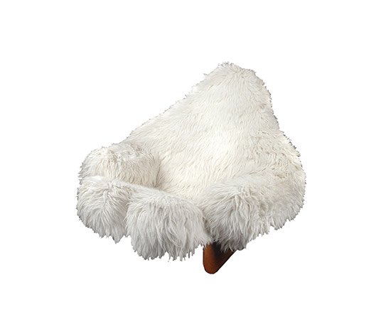 """Yeti"" rocking armchair"