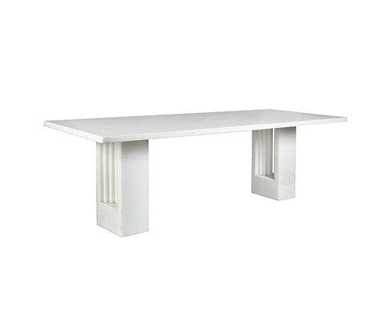 """Delfi"", white marble table"
