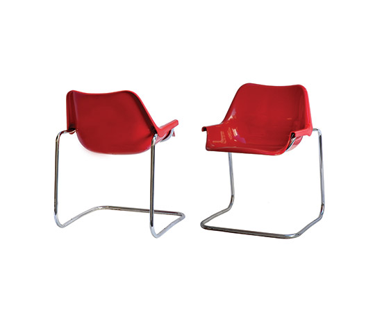 "Boetto-Five ""Dandy"" chairs"