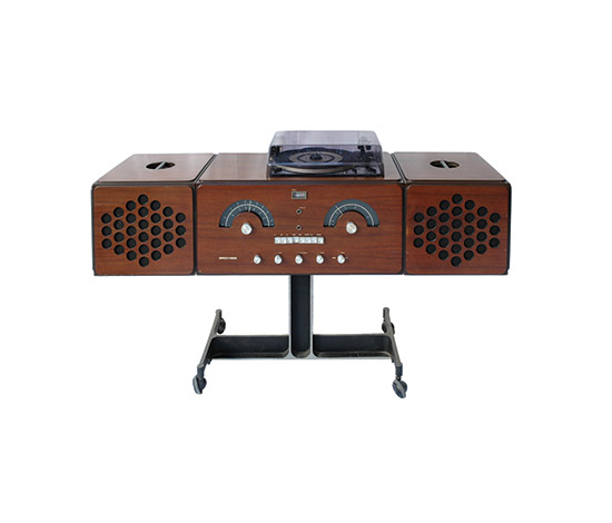 """rr 126"" stereo system by Boetto"