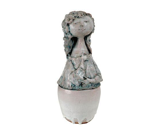 Anthropomorphic ceramic jar
