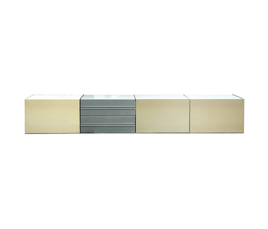 "Wall-hung ""Elisse"" credenza by Boetto"