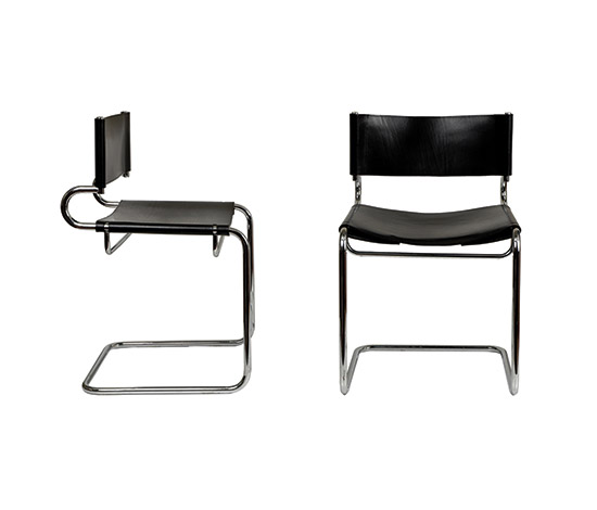 "Four ""Terrj"" chairs de Boetto"