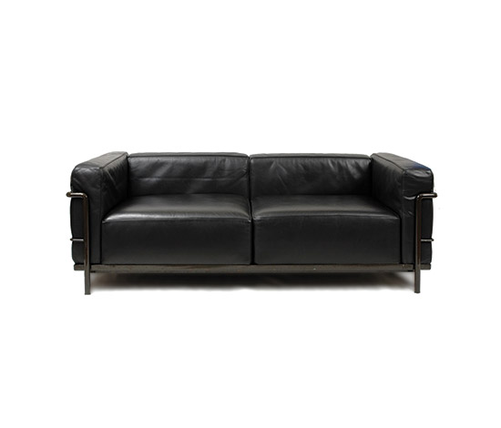 """LC 3"" two-seater sofa"