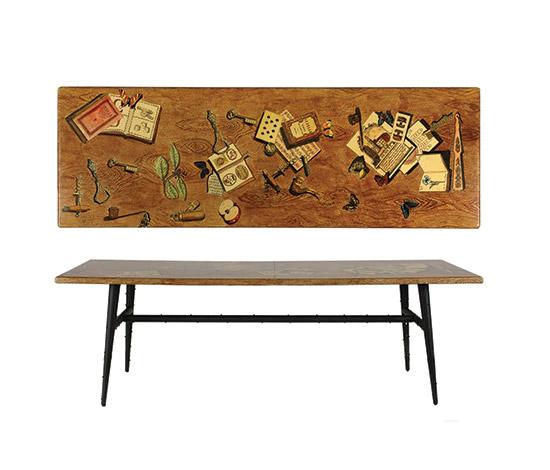 """""""Oggetti sparsi / f. legno"""" coffee table"""