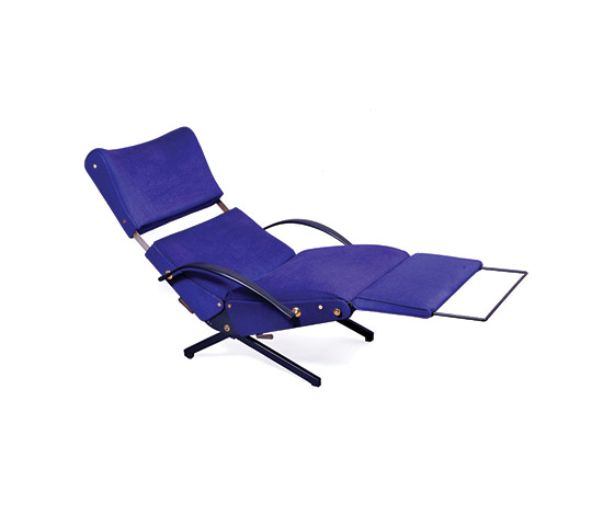 """P 40"" adjustable lounge chair di Boetto"