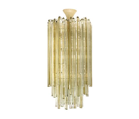 "Boetto-Large ""Trilobo"" chandelier"