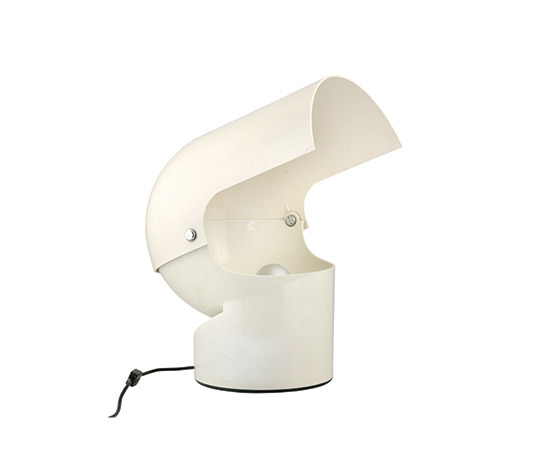 """Mezzopileo"" makrolon table lamp"