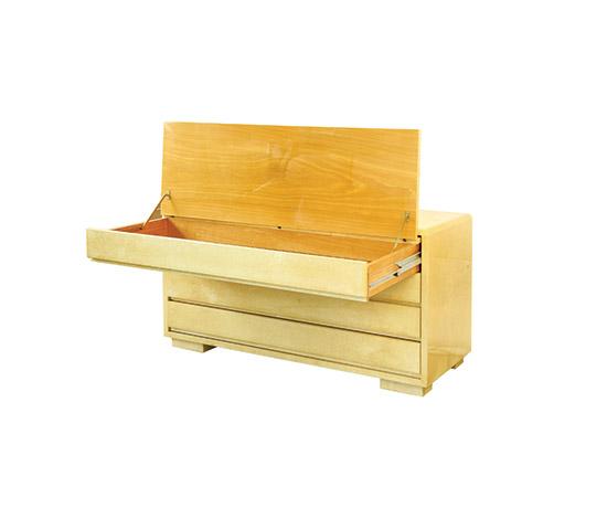 Polished parchment dresser / bureau