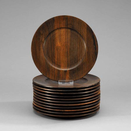 Wood plates by Bukowskis