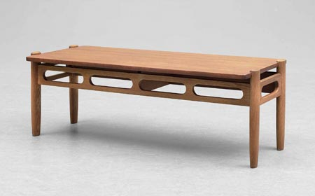 Low table/bench by Bukowskis