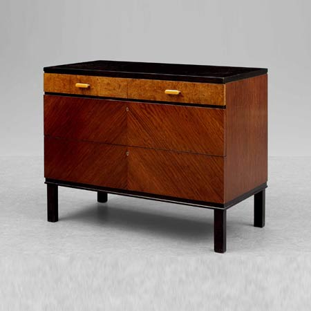 Chest of drawers 'Bubinga'