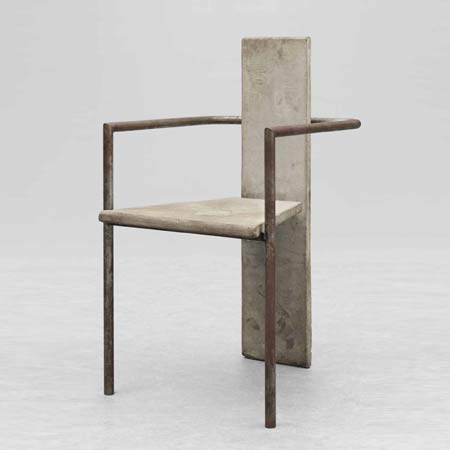 'Concrete' chair