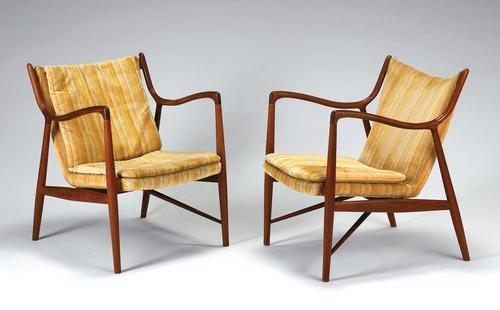 Armchairs, Model 45
