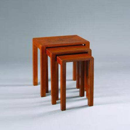 Nest of three tables by Bonhams