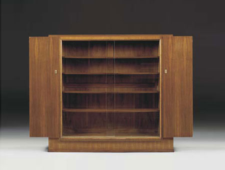 Rosewood bibliotheque by Christie`s