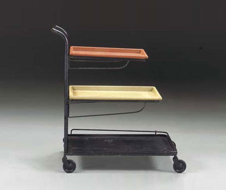 Three-tier cart