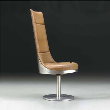 Swiveling chair by Christie`s