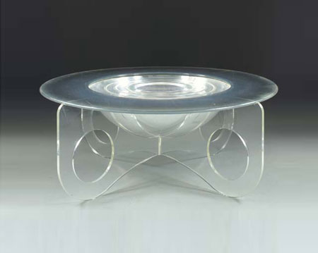 Acrylic center table