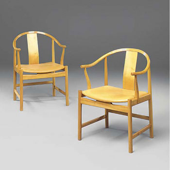 China chairs, pair