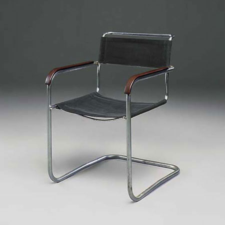B 34 side chair by Christie`s