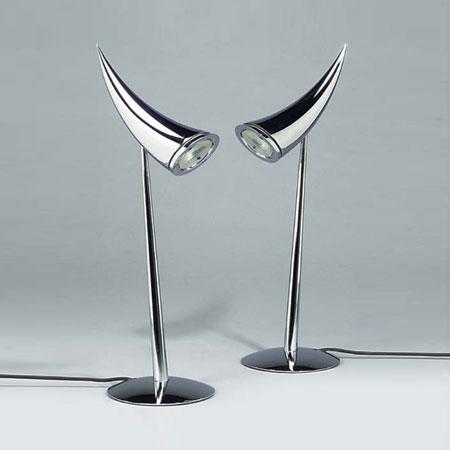 Ara lamps, pair