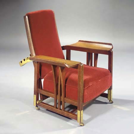 Easy chair di Christie`s