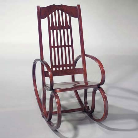 Bentwood rocking chair  Design objects  4103036  Christie`s